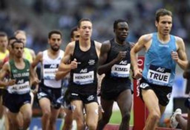 Mémorial Van Damme - Isaac Kimeli remporte le 5000m et se qualifie pour les JO de Tokyo