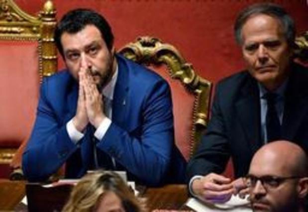 La Ligue de Salvini a déposé une motion de méfiance au Sénat