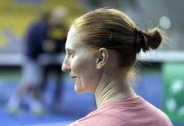 Van Uytvanck staat in tweede ronde van WTA-toernooi Rosmalen