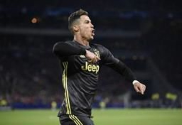 Ronaldo zal nieuwe Scudetto van Juventus niet op het veld vieren