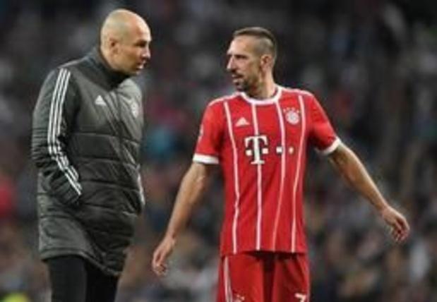 Franck Ribéry neemt binnenkort afscheid van Bayern München