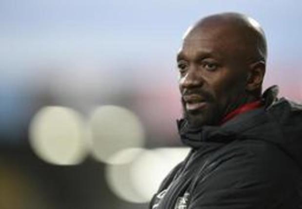 Le Français Claude Makelele n'est plus l'entraîneur d'Eupen