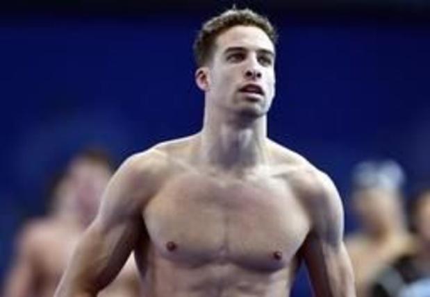 WK zwemmen - Pieter Timmers nipt naar halve finales 100m vrij