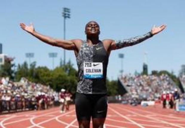 Sprinter Christian Coleman kan naar WK, dopingzaak ingetrokken