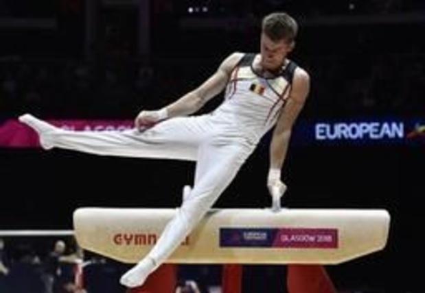 Maxime Gentges forfait à son tour pour l'Euro de gymnastique artistique