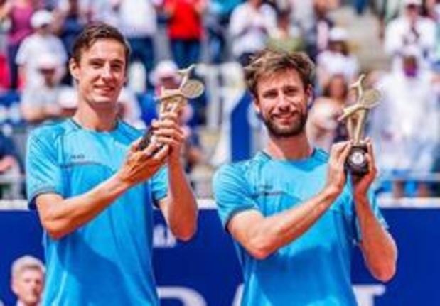 ATP Winston-Salem - Sander Gille en Joran Vliegen in halve finales dubbelspel