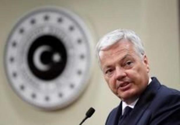 Reynders évoque en Turquie la justice pour les limogés du coup d'État manqué