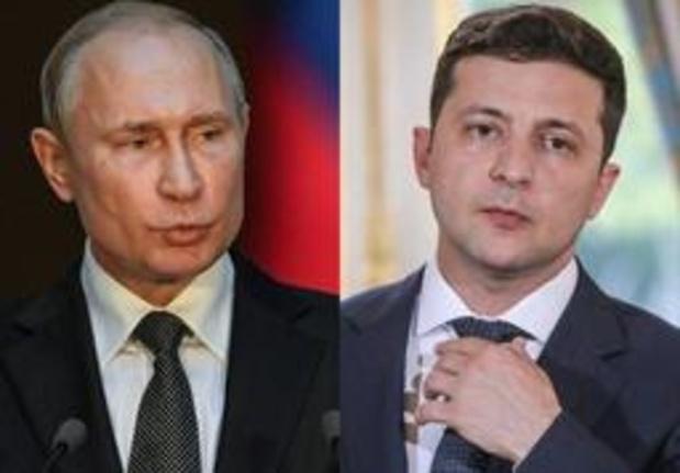 Russische en nieuwe Oekraïense president praten voor eerst over conflict Oekraïne