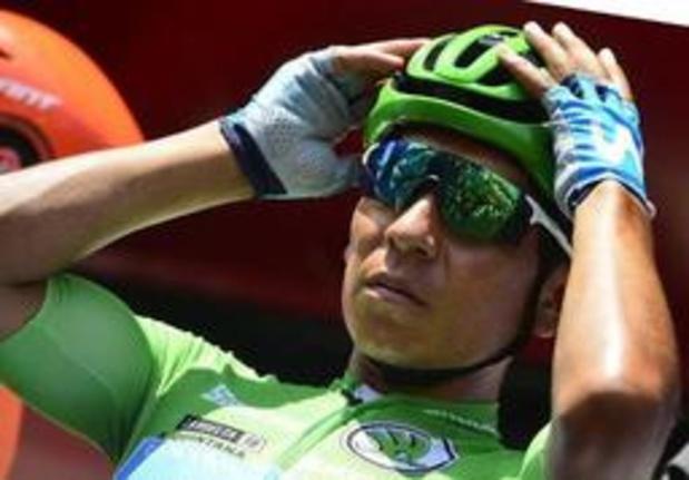 Tour d'Espagne - Le jeune Tadej Pogacar s'offre la spectaculaire 9e étape, Nairo Quintana prend le rouge