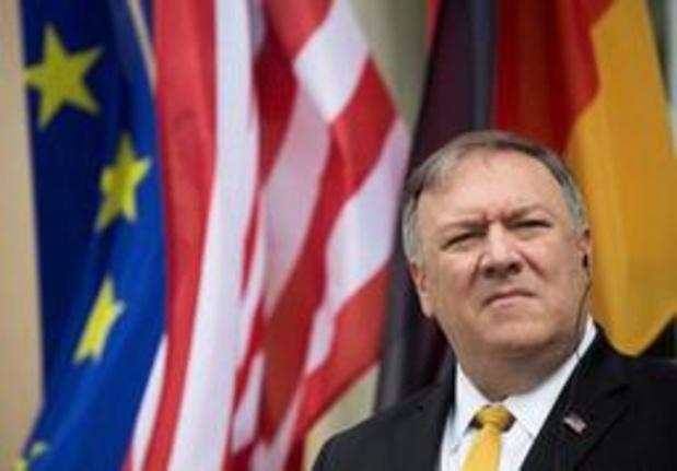 Pompeo wil tijdens bezoek aan Berlijn sancties tegen Duitse bedrijven niet uitsluiten
