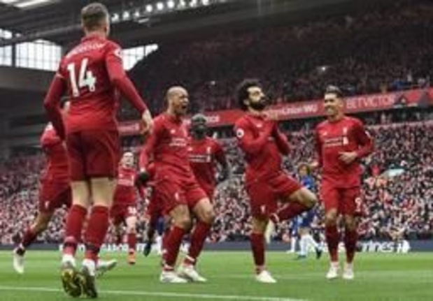 Belgen in het buitenland - Liverpool heeft geen genade voor Hazard en Chelsea