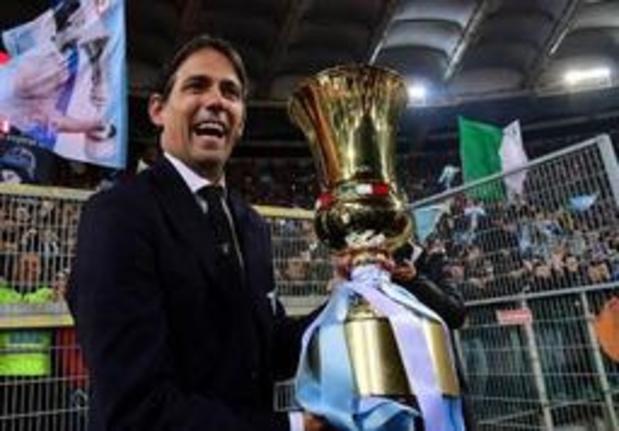 Simone Inzaghi a prolongé jusqu'en 2021 à la tête de la Lazio