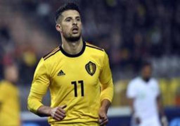 Le Diable rouge Kevin Mirallas s'engage pour une saison avec l'Antwerp