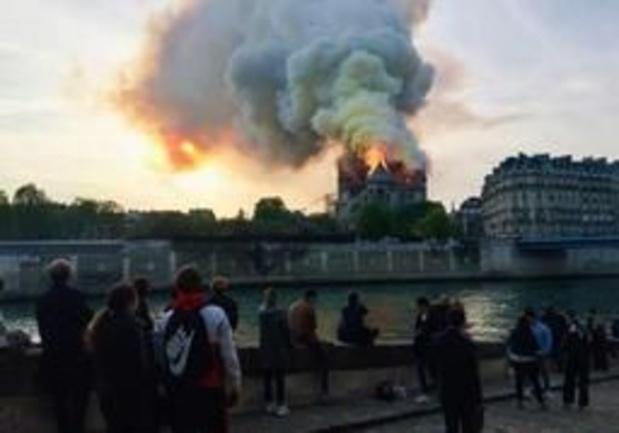 La Fondation Roi Baudouin ouvre un compte pour la reconstruction de la cathédrale Notre-Dame de Paris