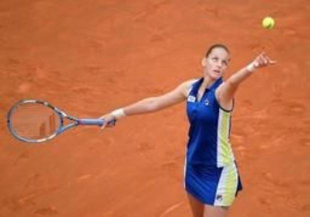 WTA Rome - Pliskova vervoegt Konta in finale