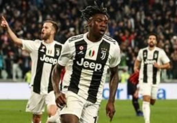 Serie A - Kean bezorgt Juventus nipte zege tegen AC Milan