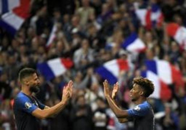Kwal. EK 2020 - Frankrijk vlot voorbij Albanië, eerste groepszege voor Portugal