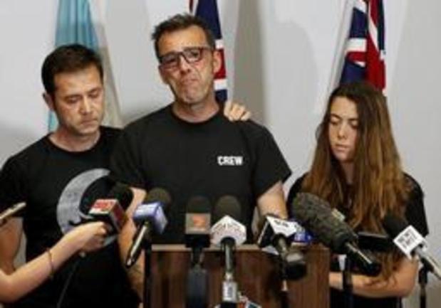 Disparition d'un Belge en Australie - Les policiers belges ont rencontré leurs collègues australiens et la famille de Théo Hayez