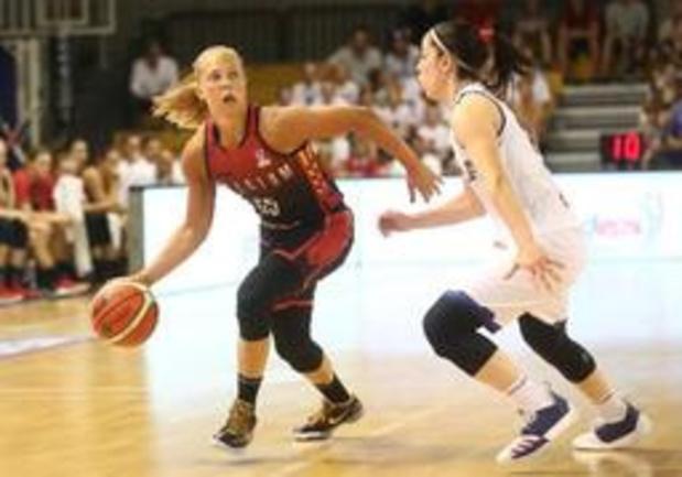 Euro de basket (d) - Avec le duo Meesseman-Allemand, les Belgian Cats gagnent face à l'Italie en préparation