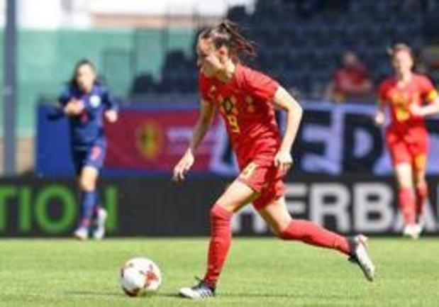 Tegen 2024 hoopt Belgische voetbalbond op dubbel zoveel voetballende vrouwen en meisjes