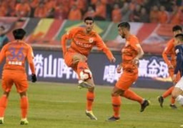 Marouane Fellaini et Shandong Luneng tenus en échec (1-1) à Shenzhen