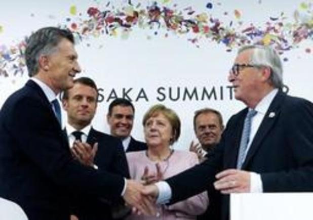 """La France """"pour l'instant pas prête à ratifier"""" l'accord UE/Mercosur"""