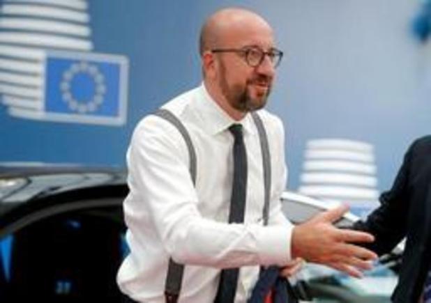 Le nom de Charles Michel cité pour la présidence du Conseil européen