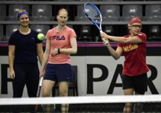 WTA Hiroshima - Vier Belgische vrouwen treden aan in Japan
