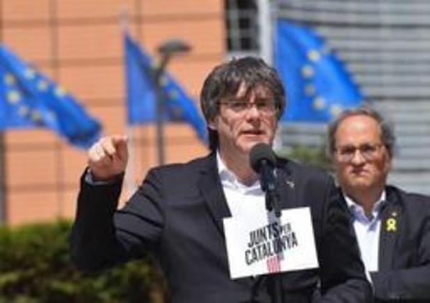 Européennes 2019 - Les indépendantistes catalans Puigdemont et Junqueras élus