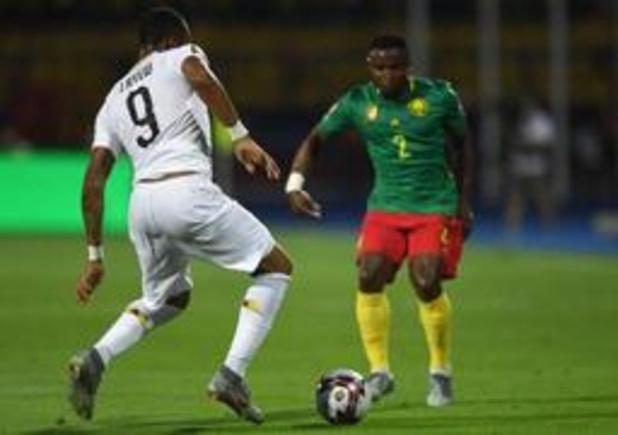 Africa Cup - Titelverdediger Kameroen speelt 0-0 gelijk tegen Ghana