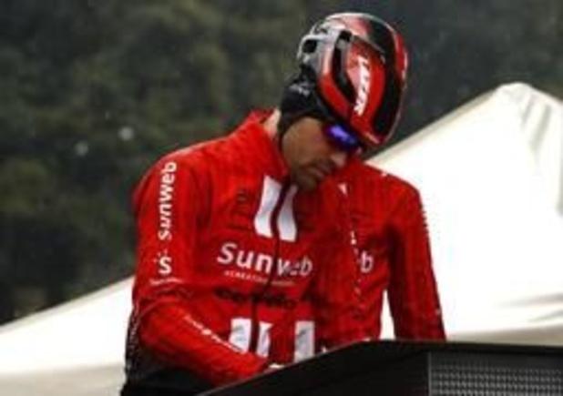 Dumoulin gooit de handdoek voor de Giro