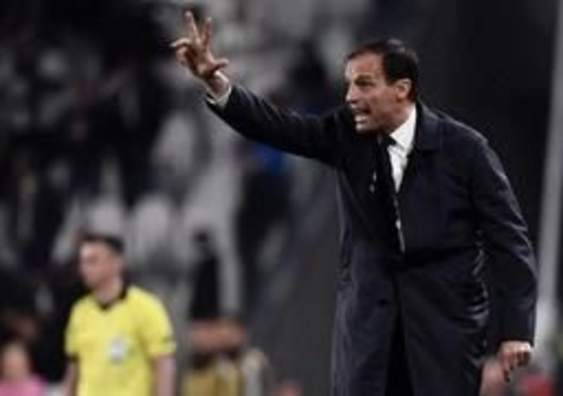 Allegri denkt ondanks uitschakeling niet aan vertrek bij Juventus