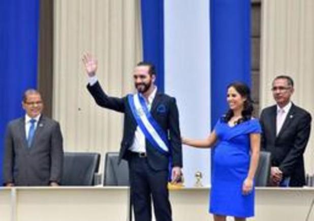 VERKIEZINGEN EL SALVADOR - Nieuwe president van El Salvador treedt aan
