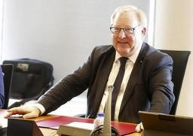 François De Keersmaecker bij federaal parket over financiële constructies