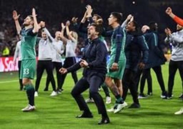 """Champions League - Spurscoach Pochettino vindt zijn spelers """"helden"""""""