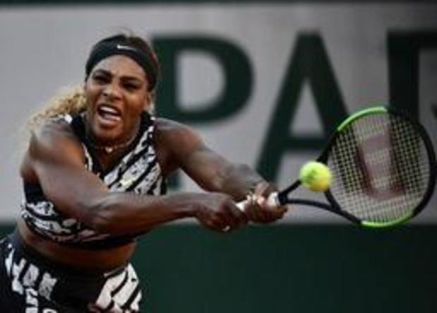 Roland-Garros - Serena Williams sortie par Sofia Kenin au 3e tour