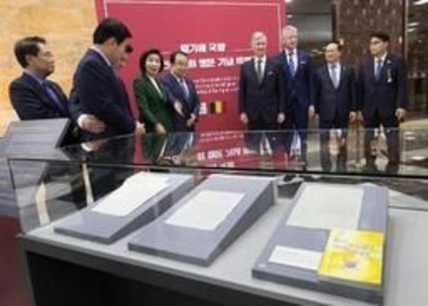 Belgisch-Koreaanse diplomatieke archieven worden verzameld in boek