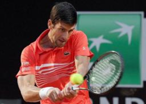 ATP Cincinnati - Djokovic en Medvedev zijn laatste halvefinalisten, Goffin treft Gasquet