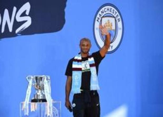 """Vincent Kompany à Manchester City pour son jubilé mercredi: """"Je suis un Mancunien"""""""
