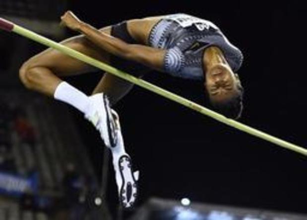 Mémorial Van Damme - Nafissatou Thiam 3e du concours de la hauteur avec 1m95 a regretté le froid et le vent