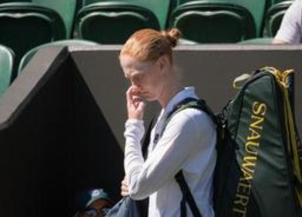 ITF Vancouver: Alison Van Uytvanck abandonne au 1er tour face à Maddison Inglis