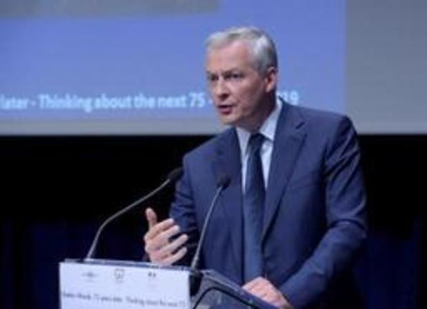 Taxation du numérique: la France appelle le G7 à ouvrir la voie à un accord international