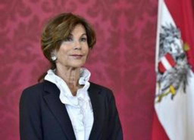 Regeringscrisis Oostenrijk - Interim-kanselier Brigitte Bierlein wordt eerste vrouwelijke regeringsleider in Oostenrijk