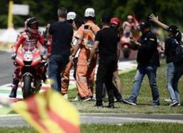 Danilo Petrucci wint in Mugello voor eigen publiek de MotoGP