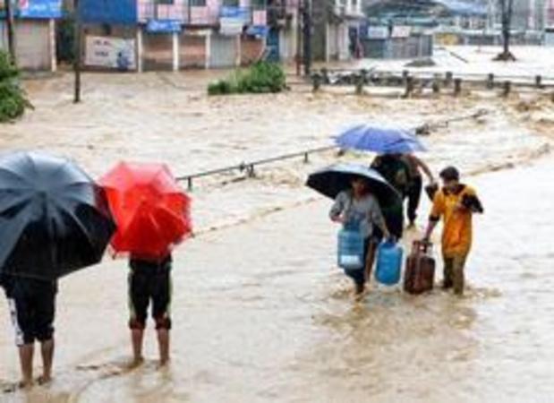 Népal: le bilan des inondations et glissements de terrain grimpe à 65 morts