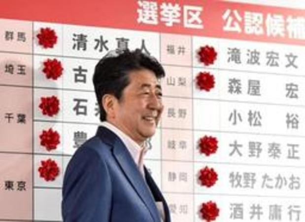 Verkiezingen Japan - Overwinning voor premier Abe, maar niet volledig