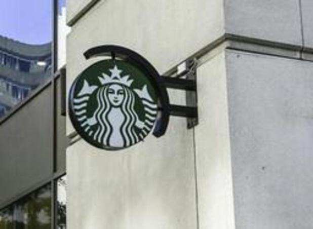 Verkopen Starbucks sterkst omhoog in jaren