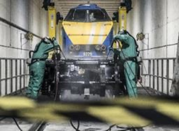 """NMBS start met """"pitstop voor treinen"""" in Melle"""