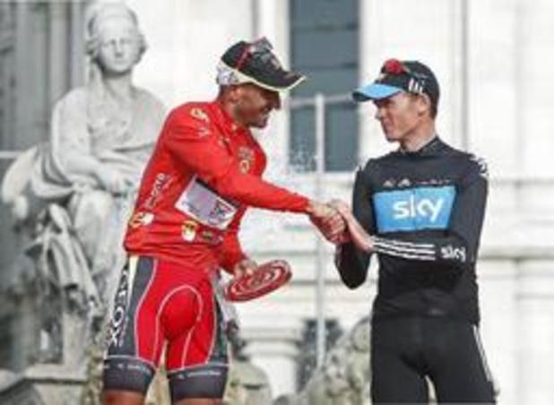 Chris Froome est le nouveau vainqueur de la Vuelta 2011