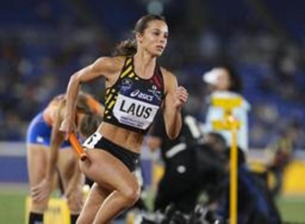 IFAM Oordegem - Dylan Borlée et Camille Laus remportent leur 400 mètres